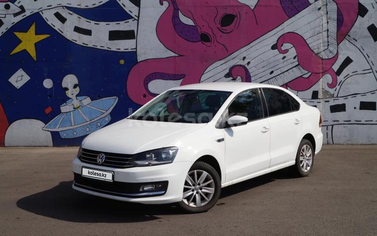 Volkswagen Polo 2016 года за 5 900 000 тг. в Алматы