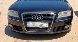 Audi A8 2008 года за 5 500 000 тг. в Жанаозен – фото 3