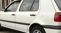 Volkswagen Golf 1995 года за 1 850 000 тг. в Тараз – фото 4