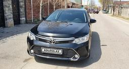 Toyota Camry 2016 года за 11 800 000 тг. в Алматы – фото 2