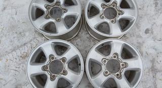Оригинальные легкосплавные диски R16 на Toyota Land Cruiser VX (Япон за 60 000 тг. в Нур-Султан (Астана)