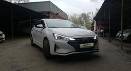 Hyundai Elantra 2019 года за 9 700 000 тг. в Алматы
