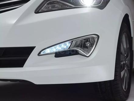 Бампер Hyundai Accent за 14 000 тг. в Нур-Султан (Астана) – фото 2