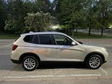BMW X3 2014 года за 10 900 000 тг. в Алматы – фото 2