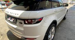 Land Rover Range Rover Evoque 2012 года за 10 500 000 тг. в Шымкент – фото 4