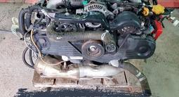 Двигатель Subaru Ej 2.5 Outbask за 380 000 тг. в Алматы