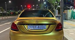 Диффузор с насадками для Mercedes Benz w205 за 135 000 тг. в Алматы