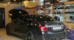 Диффузор с насадками для Mercedes Benz w205 за 135 000 тг. в Алматы – фото 3