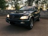 Mercedes-Benz ML 320 2002 года за 3 500 000 тг. в Нур-Султан (Астана) – фото 5