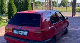 Volkswagen Golf 1992 года за 1 500 000 тг. в Тараз – фото 4