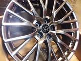 Качественная реплика r20 5-114.3 новые диски на новейшую модель lexus rc- за 280 000 тг. в Кокшетау – фото 2