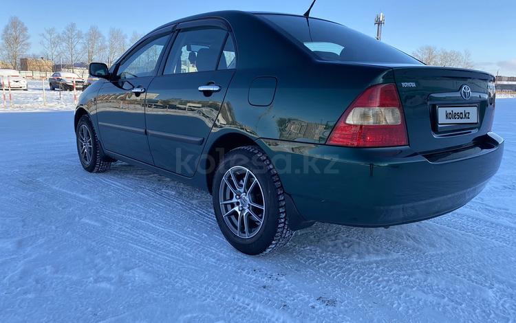 Toyota Corolla 2002 года за 3 400 000 тг. в Петропавловск