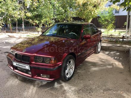 BMW 318 1991 года за 1 400 000 тг. в Шымкент – фото 4