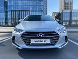 Hyundai Elantra 2018 года за 7 700 000 тг. в Нур-Султан (Астана) – фото 3