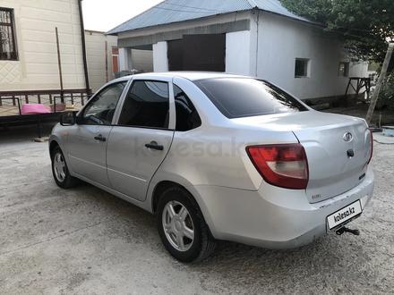 ВАЗ (Lada) 2190 (седан) 2011 года за 1 700 000 тг. в Туркестан – фото 4
