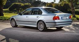Фара BMW E39 95-00 черный хрусталь за 37 000 тг. в Алматы – фото 2