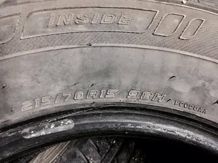 Летние шины Dunlop 215/70/15 за 19 990 тг. в Нур-Султан (Астана) – фото 2
