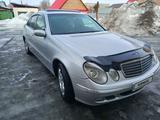 Mercedes-Benz E 240 2002 года за 3 700 000 тг. в Усть-Каменогорск – фото 3
