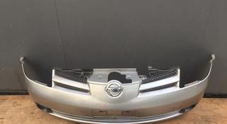Бампер (усилитель, наполнитель, крепление, решетка) Nissan Note e11 за 35 000 тг. в Алматы