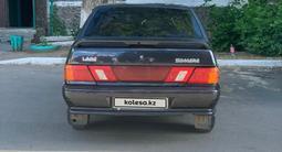 ВАЗ (Lada) 2115 (седан) 2007 года за 790 000 тг. в Караганда – фото 3