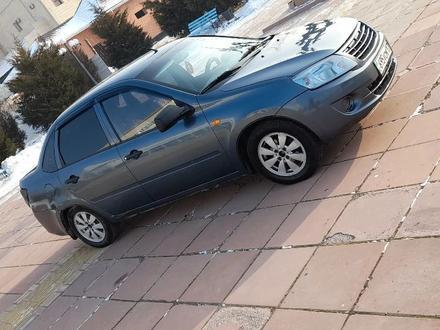 ВАЗ (Lada) 2190 (седан) 2014 года за 1 950 000 тг. в Шымкент – фото 4