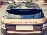 Land Rover Range Rover Evoque 2014 года за 11 500 000 тг. в Алматы – фото 2