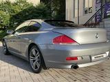 BMW 650 2006 года за 6 000 000 тг. в Алматы – фото 3