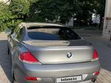 BMW 650 2006 года за 6 000 000 тг. в Алматы – фото 4