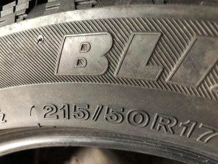 215/50/17 комплект бу бриджстоун за 65 000 тг. в Алматы – фото 6