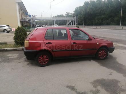 Volkswagen Golf 1993 года за 1 100 000 тг. в Алматы – фото 4
