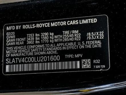 Rolls-Royce Cullinan 2019 года за 199 000 000 тг. в Алматы – фото 44