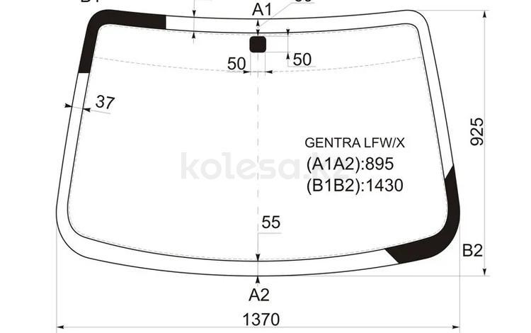 Стекло лобовое в клей Chevrolet AVEO 4/5d 06-11 за 14 900 тг. в Алматы