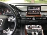 Audi A8 2011 года за 9 500 000 тг. в Алматы – фото 2