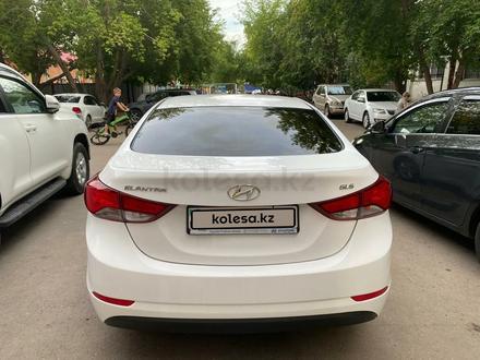 Hyundai Elantra 2014 года за 4 900 000 тг. в Нур-Султан (Астана) – фото 4