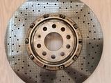 Керамический тормозной диск Audi S8 левый за 200 000 тг. в Алматы