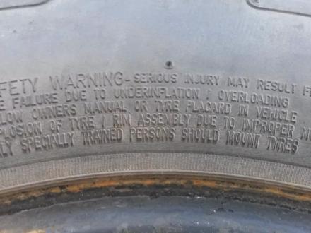R 16 235/70 Technic USA 1 штука за 10 000 тг. в Караганда – фото 6