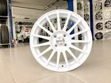 Диски литые Прома RS 4x100 r16# 1 белые спицы за 30 250 тг. в Тольятти