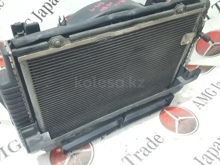Радиаторы (кассета) + вентилятор Mercedes w208 за 60 783 тг. в Владивосток – фото 2