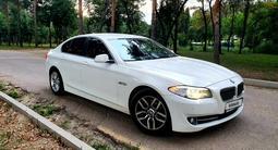 BMW 520 2013 года за 9 500 000 тг. в Алматы – фото 2