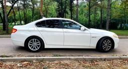 BMW 520 2013 года за 9 500 000 тг. в Алматы – фото 3