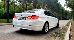 BMW 520 2013 года за 9 500 000 тг. в Алматы – фото 4