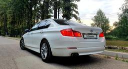 BMW 520 2013 года за 9 500 000 тг. в Алматы – фото 5