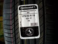 Шины Continental 245/45/-275/40/r19 CSC5 за 345 000 тг. в Алматы