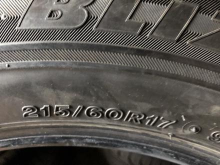 215/60/17 комплект бу бриджстоун за 70 000 тг. в Алматы – фото 5