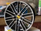 Диски r20-21 разно широкие Porsche Panamera cayenne за 440 000 тг. в Алматы – фото 2