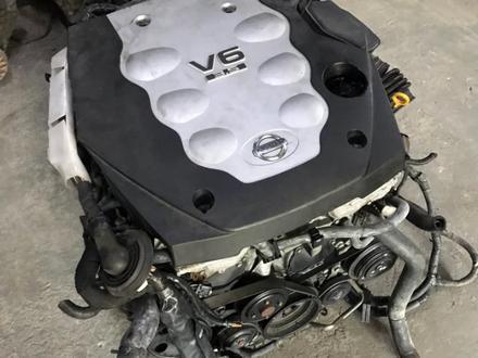 Двигатель Nissan VQ35HR 3.5 л из Японии за 500 000 тг. в Петропавловск