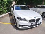 BMW 528 2016 года за 13 800 000 тг. в Нур-Султан (Астана)