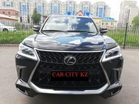 Lexus LX 570 2018 года за 45 100 000 тг. в Нур-Султан (Астана)