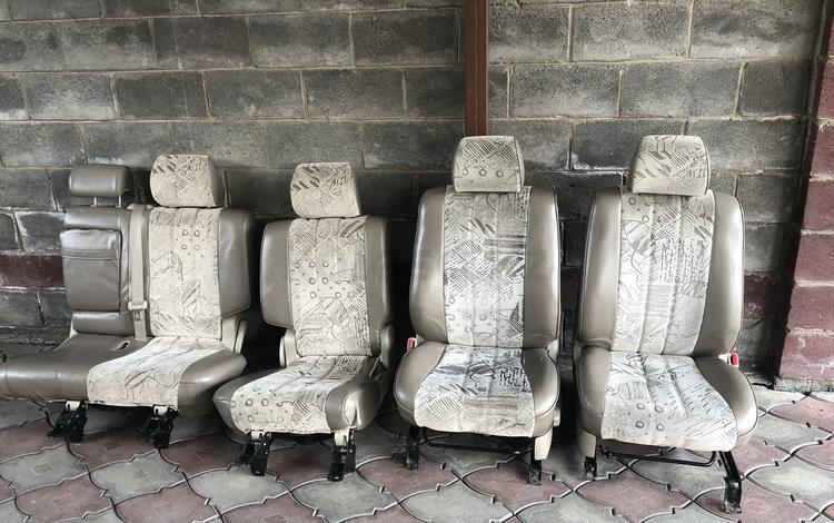 Сидения на Прадо 120 механические велюр за 150 000 тг. в Алматы