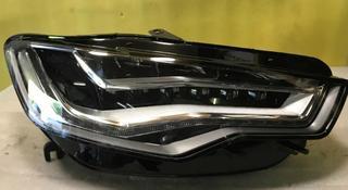 Audi a6 c7 4g дорест фара правая Led диодная за 297 500 тг. в Алматы